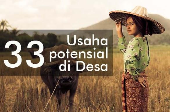33 Usaha Potensial di Desa Yang Menjanjikan