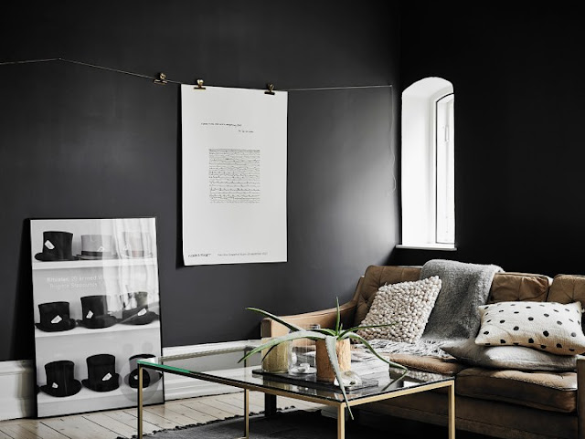 Elegant Black Walls 7