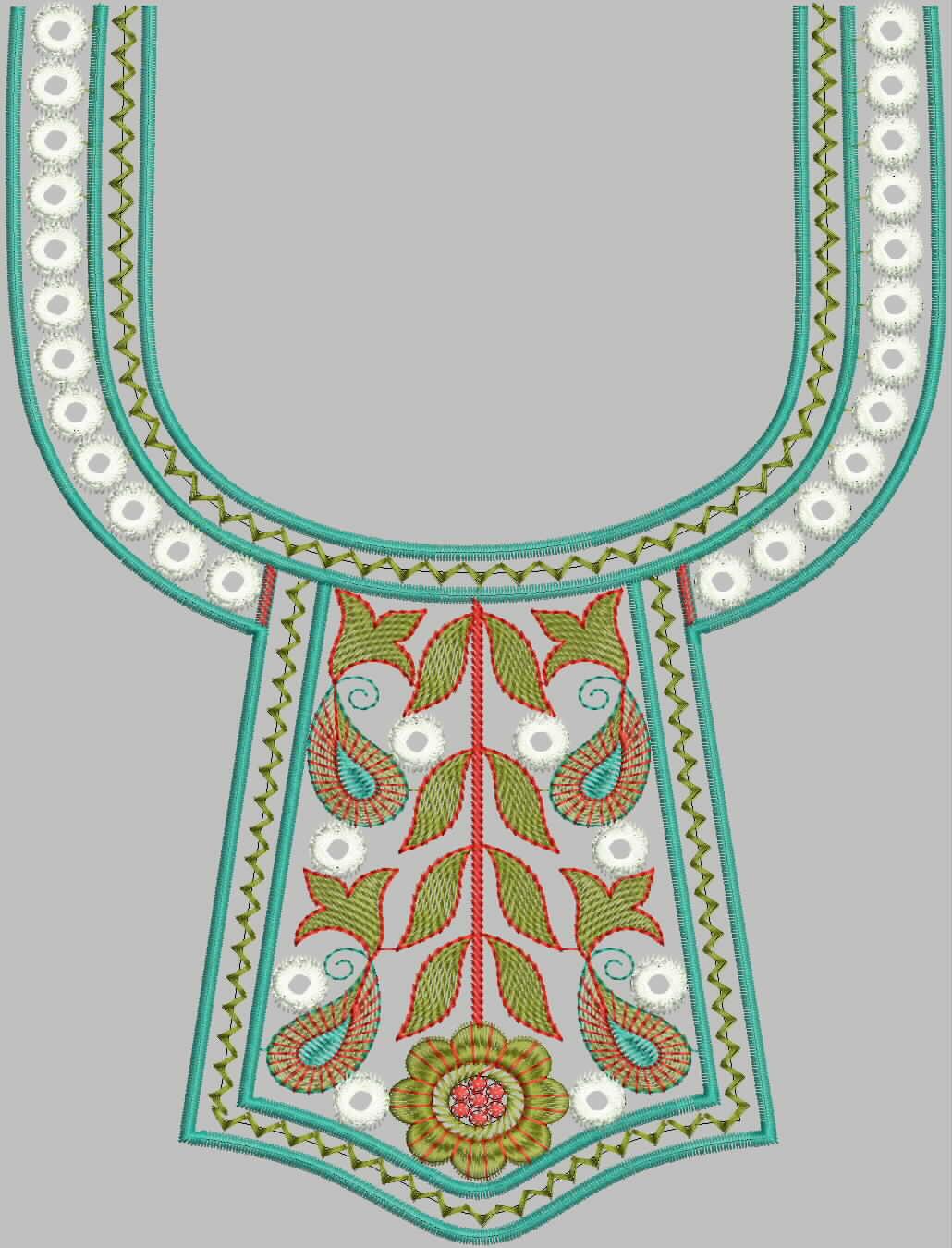latest neck designs for ladies suits