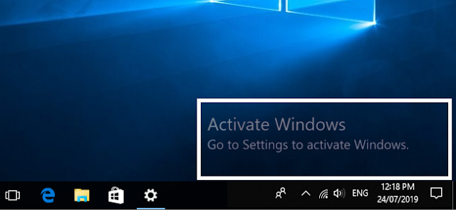 How To Remove Activate Windows Watermark From Windows