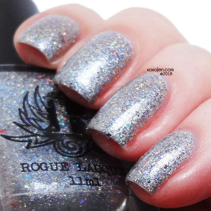 xoxoJen's swatch of Rogue Lacquer More Than a Machine