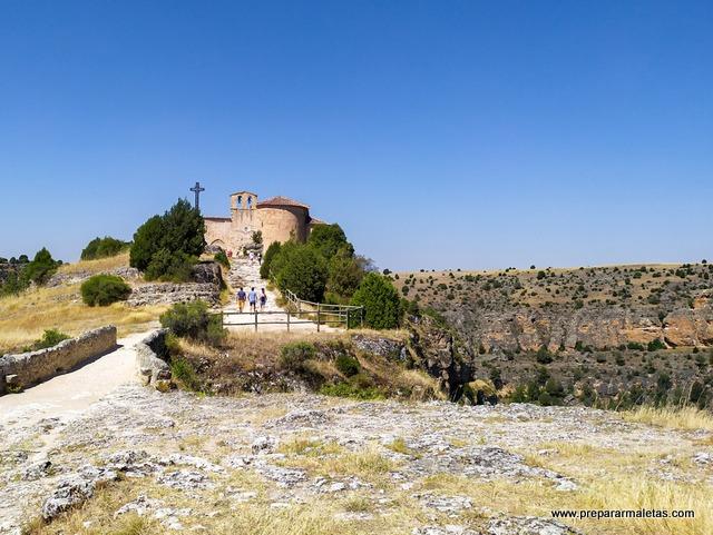 ruta a la ermita San Frutos en Hoces Duratón