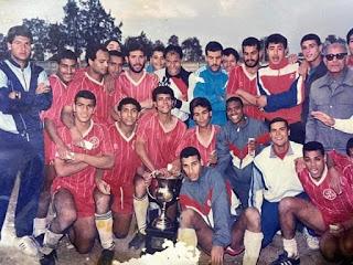 حمزة الجمل وأحمد نخلة مع فريق غزل شبين