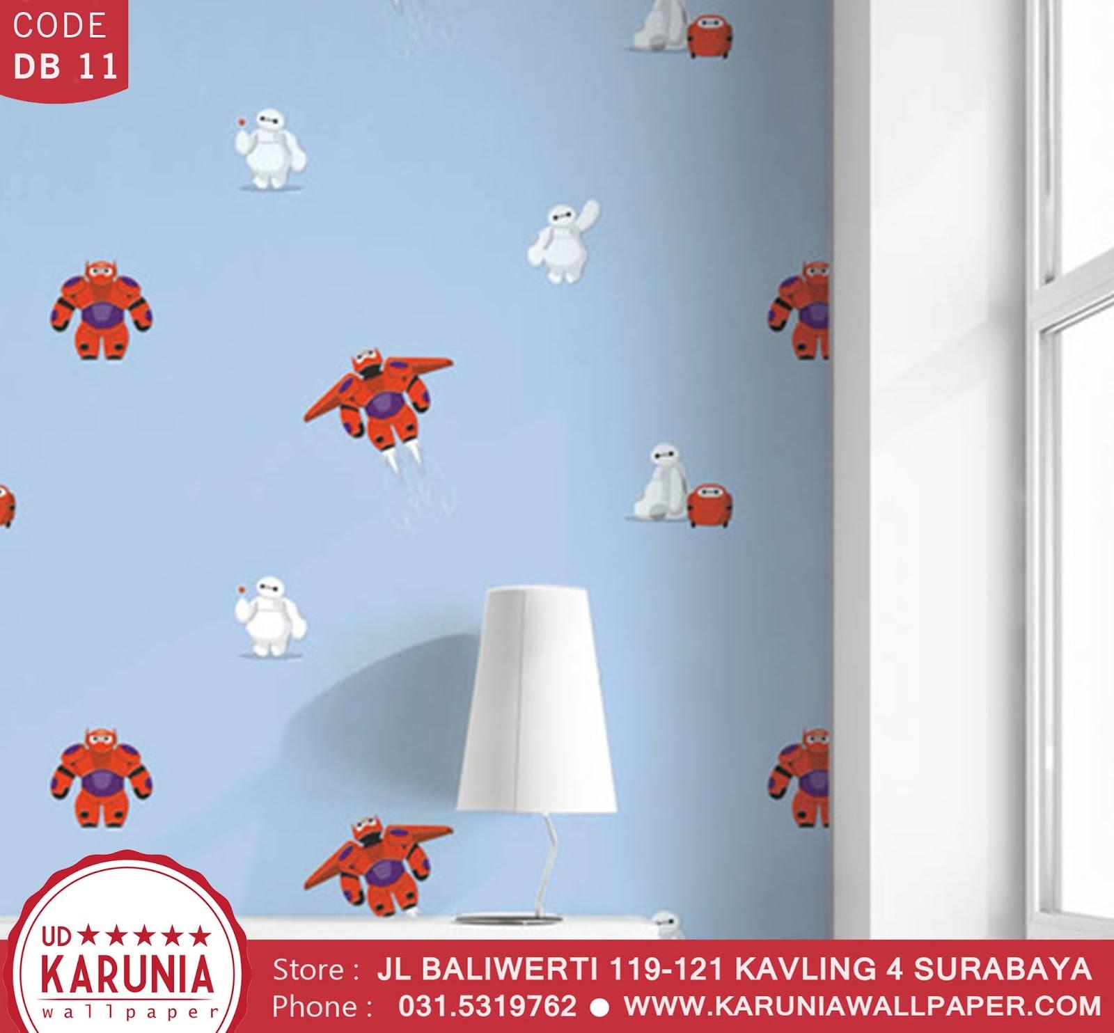 jual wallpaper dinding baymax disney anak -anak karuniawallpaper