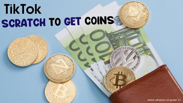 SCRATCH TO GET Tiktok COINS