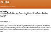IKA BOMA Release Nama Maba UNM 2016 Asal Selayar Penerima Beasiswa Bidikmisi