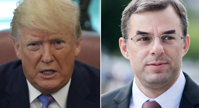 Trump rips 'total loser' Justin Amash after he quits GOP