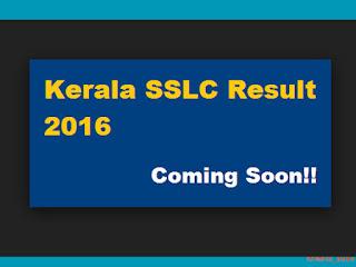 Kerala SSLC Result 2016 - Check Now