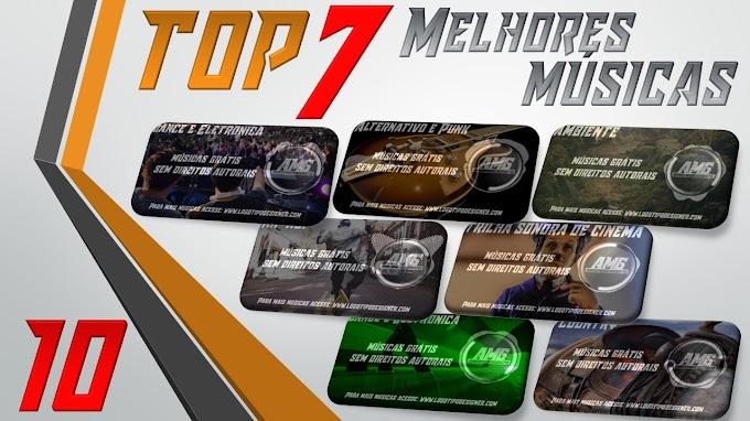 As 7 Melhores Músicas #10 Grátis free use Logo Tipo Designer