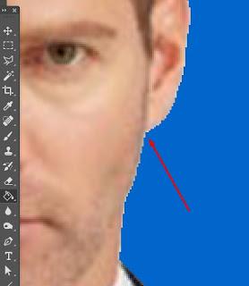 background photoshop warna biru