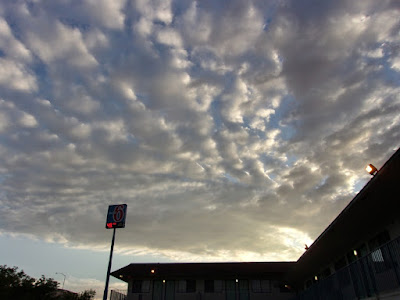 a Cloudy Day in the Morning at the Motel 6 in Nevada - Photo by gvan42