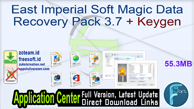 East Imperial Soft Magic Data Recovery Pack 3.7 + Keygen_ ZcTeam.id