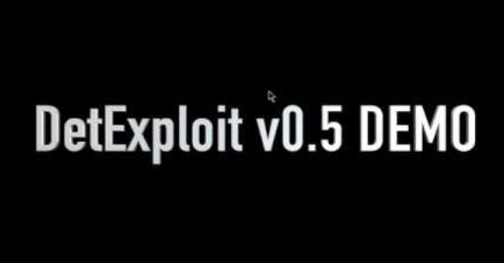 DetExploit : OSS Vulnerability Scanner for Windows Platform