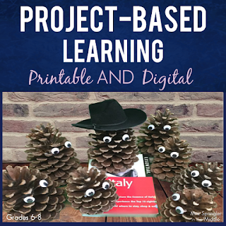 Summer Vacation Planning Project Based Learning for Middle School combines research, budgeting, and creativity all in one!
