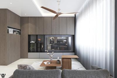 Swiss interior living room