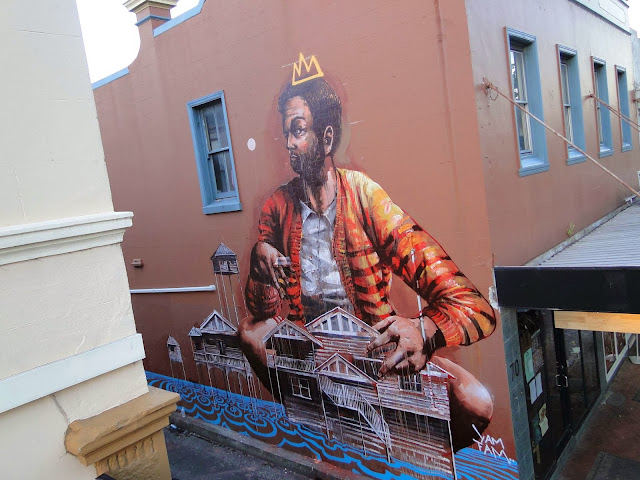 Street Art By Fintan Magee In Wollongong, Australia For THe Wonder Walls Urban Art Festival. 3