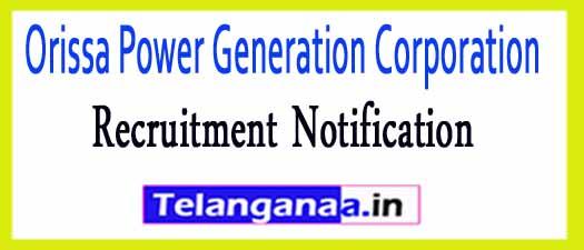 Orissa Power Generation Corporation OPGC Recruitment Notification 2017
