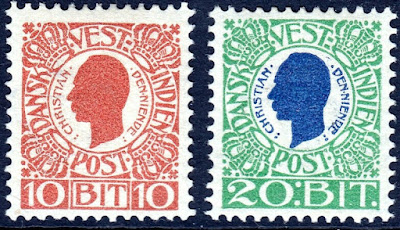 Danish West Indies 1905 Christian IX Issue