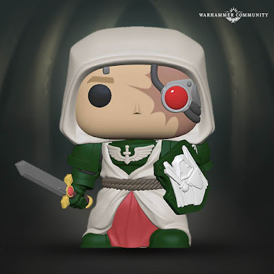 Render de Funko Pop Ángel Oscuro