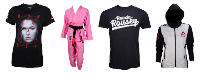 Ronda Rousey apparel