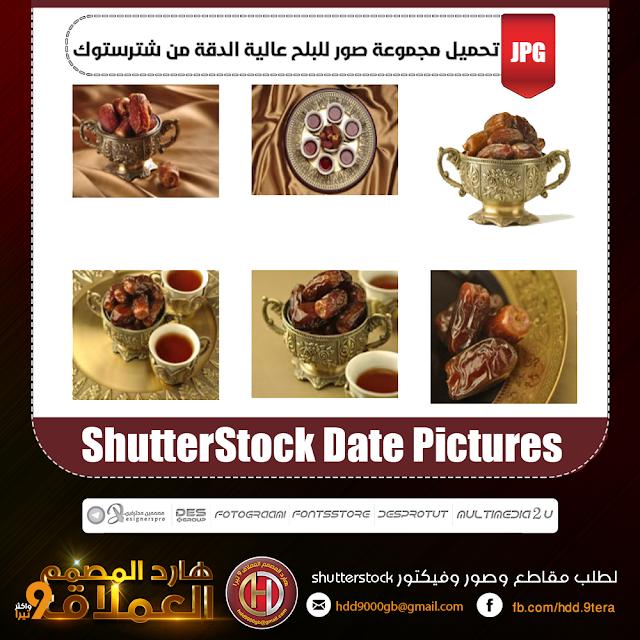 تحميل مجموعة صور للبلح عالية الدقة من شترستوك ShutterStock Date Pictures