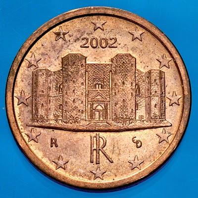 60830fdb84 La Mole Antonelliana di Torino è infatti correttamente stampata sulla  moneta da 2 centesimi ma non su quella da un centesimo. Così il valore della  monetina ...