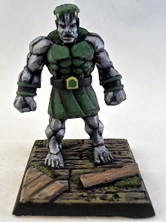 Show Off: Stone Golem (inspired by Marvel's Doctor Doom)