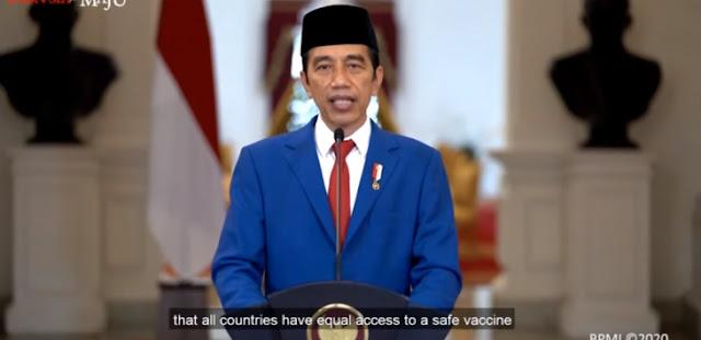 Jokowi Sempat Ada Rencana Reshuffle, tapi Ternyata Kondisinya Mumet karena Demo