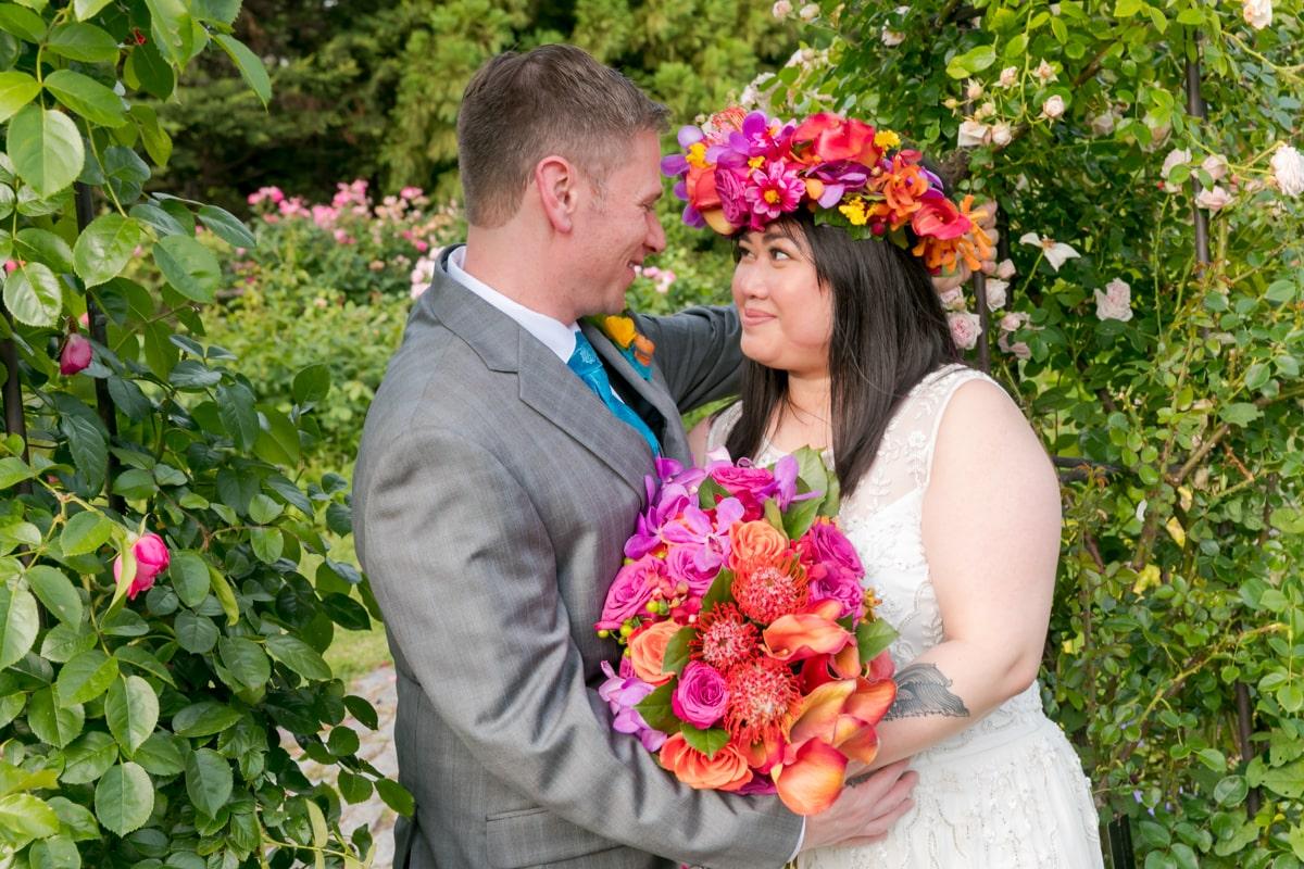 Queens Garden wedding photography, NY