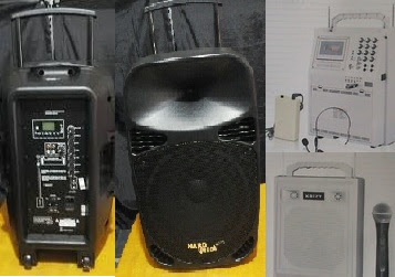 Rental Sewa Speaker Portable Harga Murah