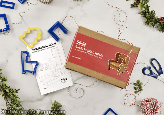 For Christmas, IKEA Invites You To Recreate Its Gingerbread Furniture