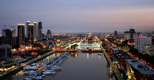 Passear por Puerto Madero em Buenos Aires