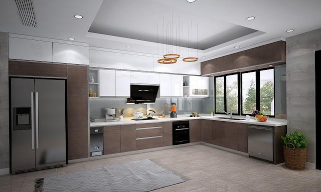 Nội thất khu bếp