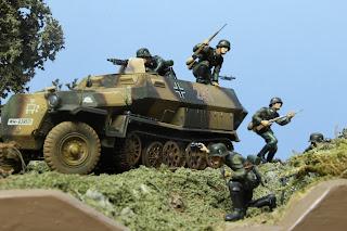 Diorama Sdkfz 251/1 1/35