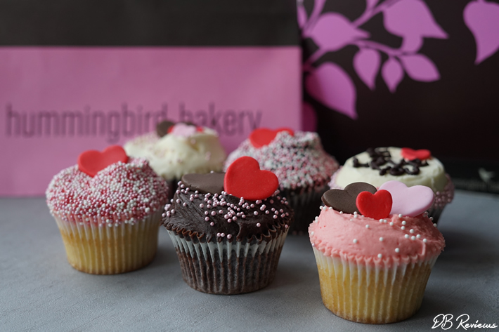 Hummingbird Bakery Valentine's I Love You Cupcake Selection Box
