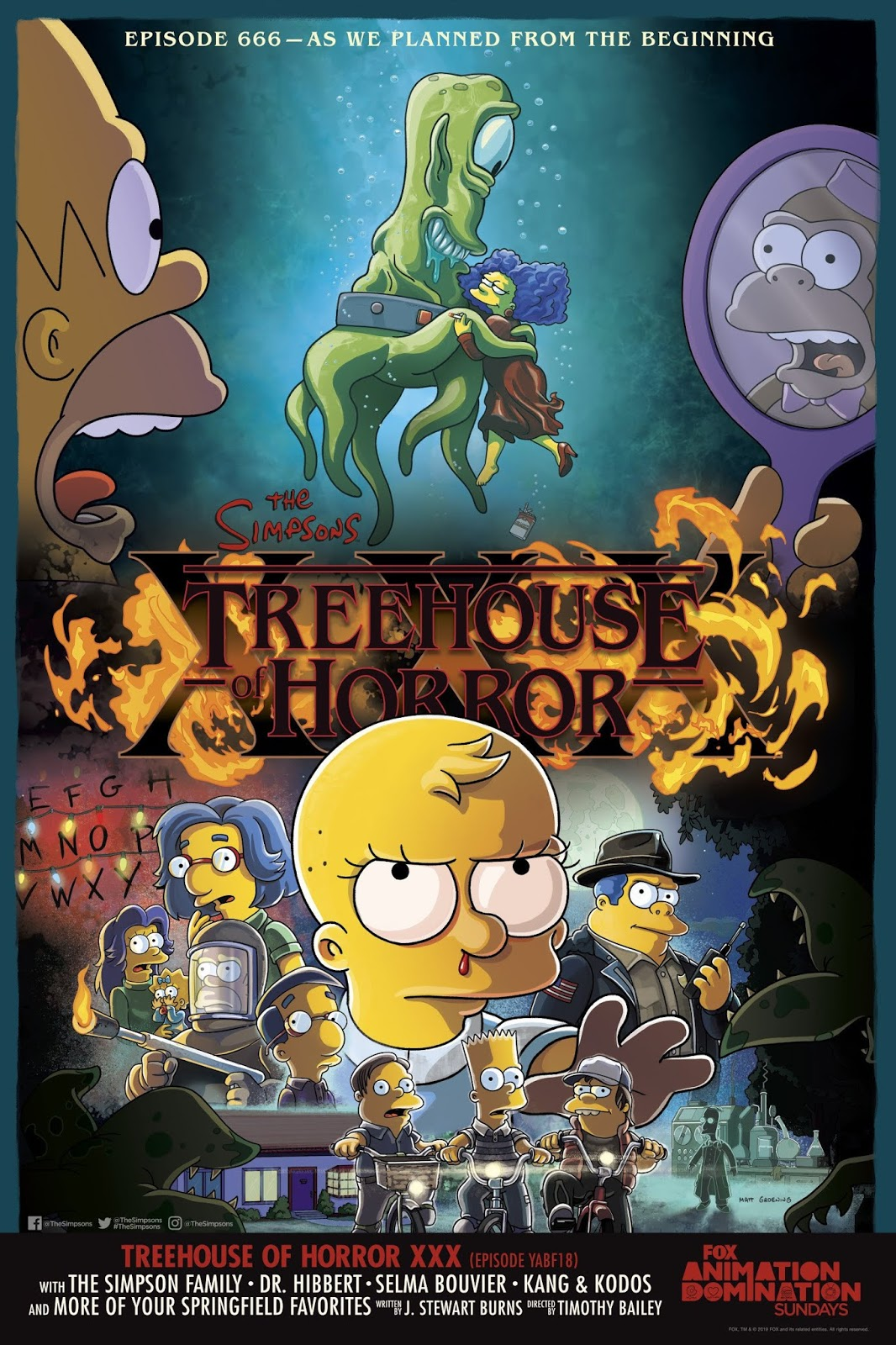 Das neuste Halloween Special der Simpsons | Treehouse of Horror