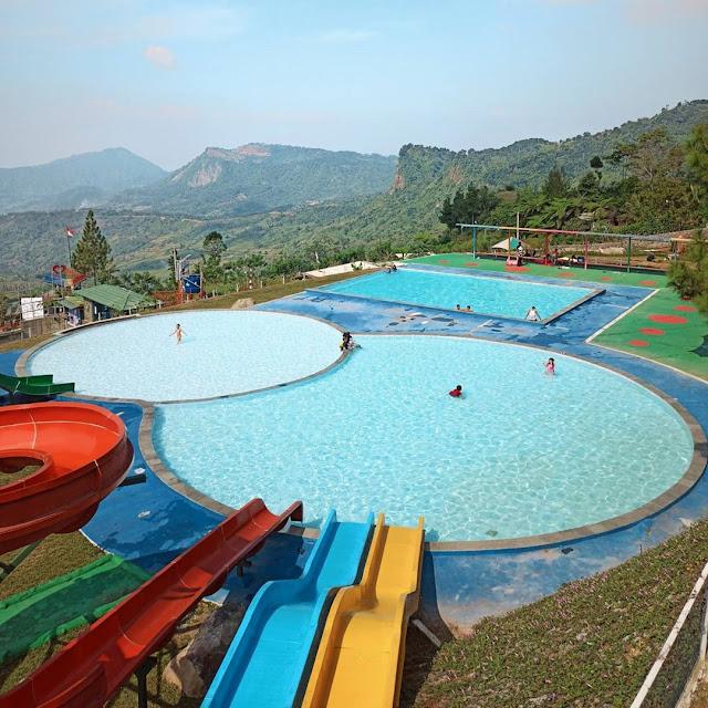 Kolam Renang Nirvana Valley Resort Bogor