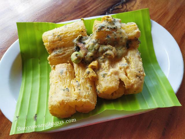 salted egg singkong goreng 1911 cafe & resto kalibendo