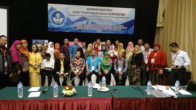 Kegiatan Seminar Nasional yang dilaksanakan Kesharlindung Tahun 2017