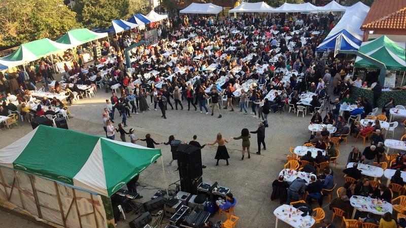 Με μεγάλη επιτυχία η 3η Γιορτή Τσίπουρου στον Ίασμο Ροδόπης