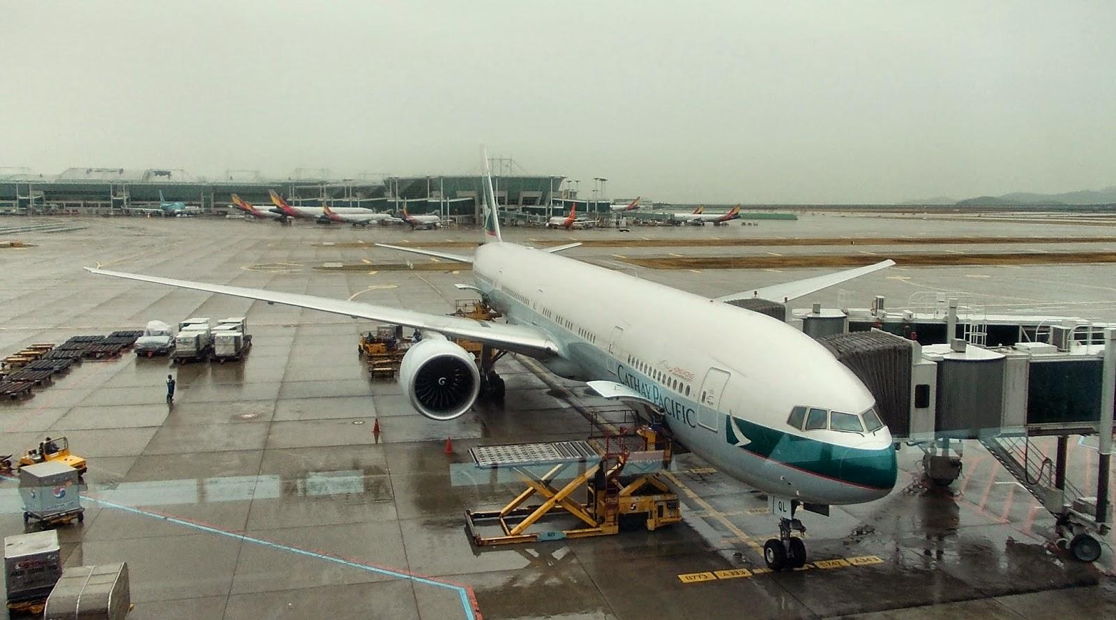 KS's Blog: Fly to Hong Kong with Cathay Pacific. part 2/キャセイパシフィック航空で香港へ(その2)