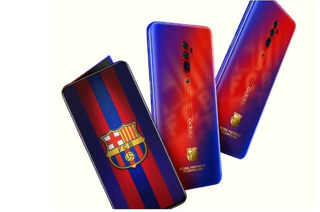 Oppo Reno 10X Zoom FC Barcelona Edition Announced