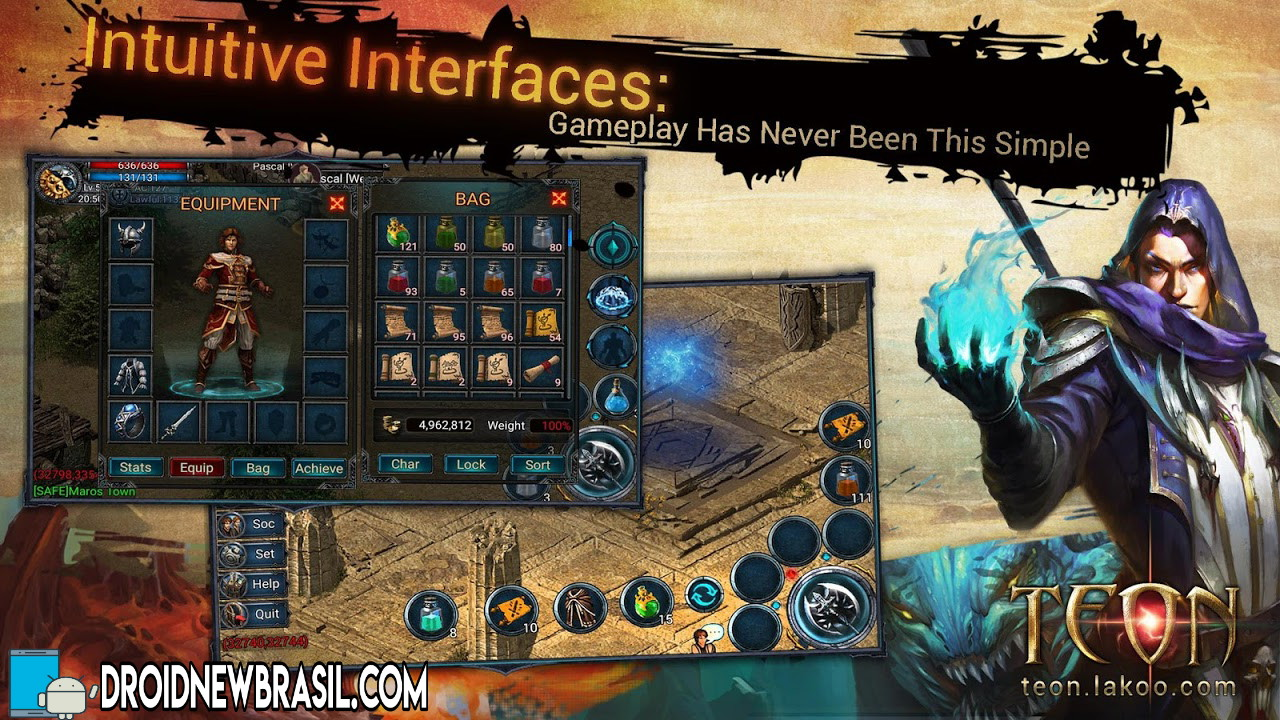Teon - No pay-to-win ARPG 1.1.176111 APK –  OBB