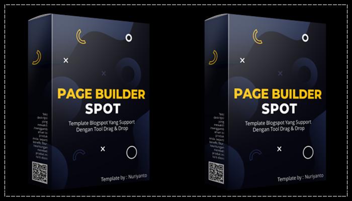 Template Blogspot Page Builder Spot