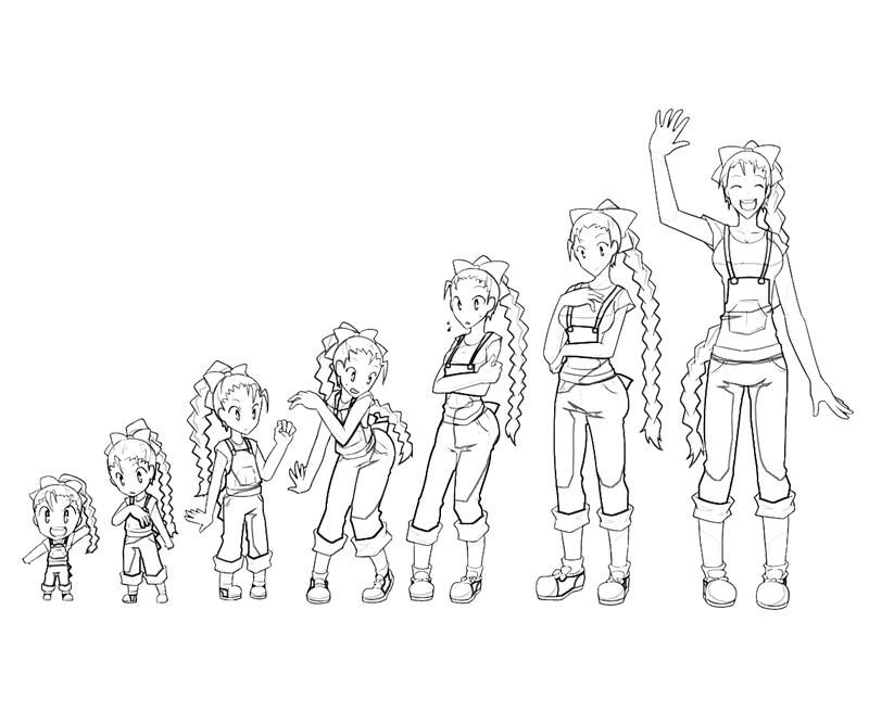 gamecube harvest moon coloring pages - photo #8