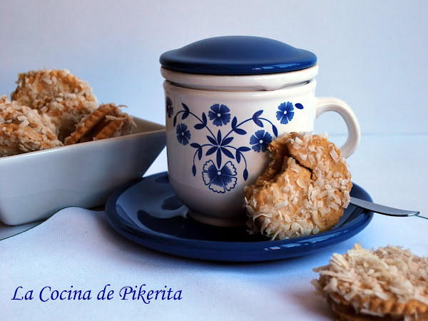 Galletas con membrillo y coco