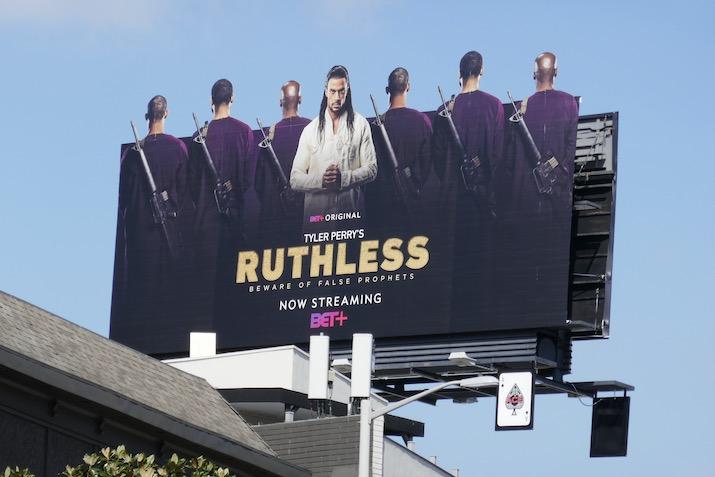 Ruthless series premiere billboard