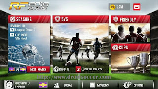 Real Football 18 Apk Android