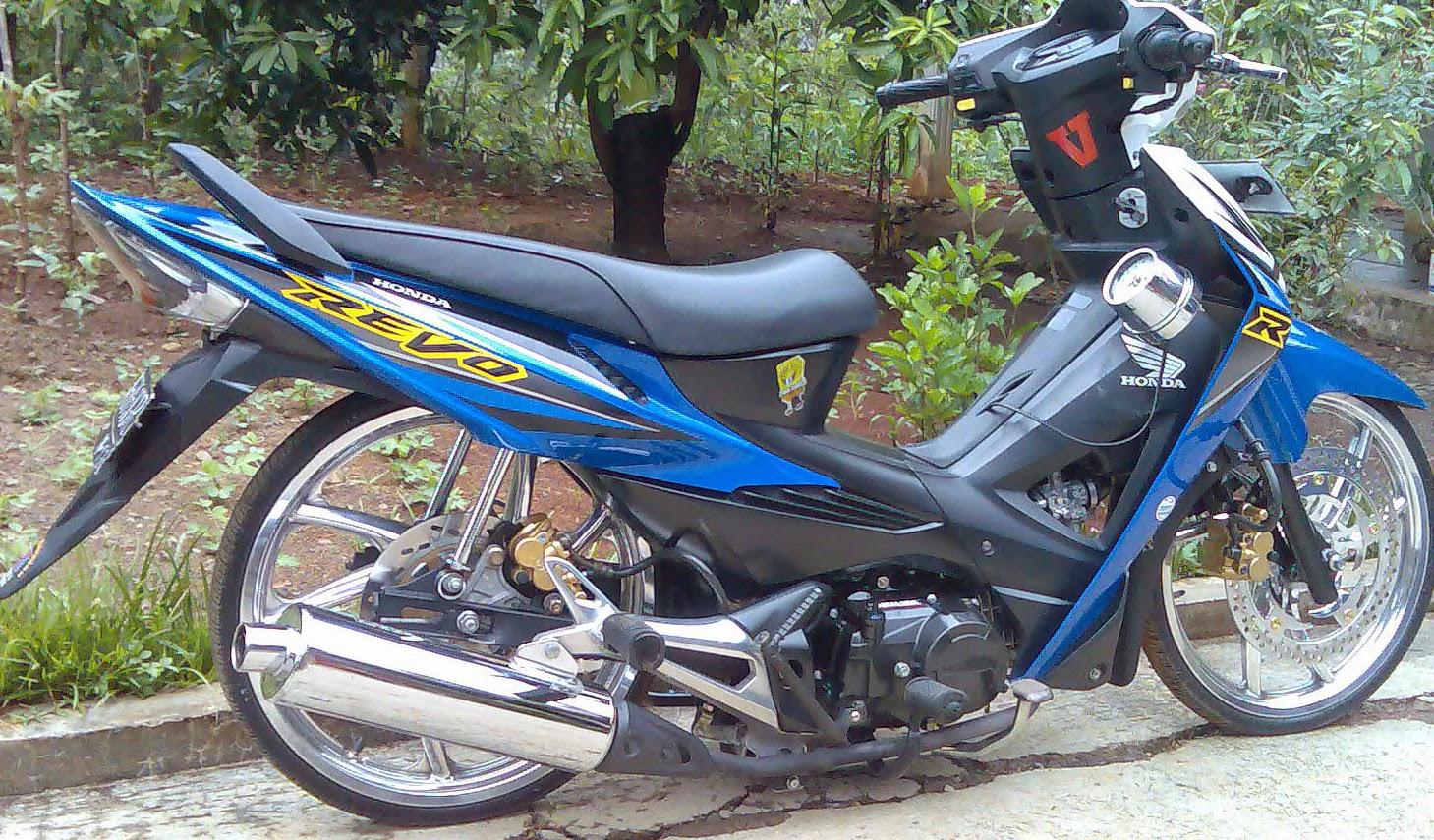70 Foto Modifikasi Motor Revo Ceper Terkeren Teka Teki Motor