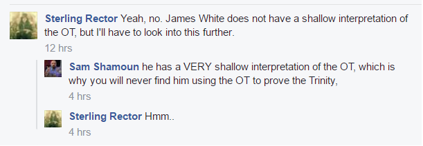 The Facts About Islam: Sam Shamoun: James White Has A